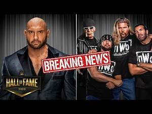 Batista & NWO Set For WWE Hall Of Fame 2020 Induction!