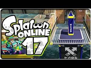 Let's Play SPLATOON ONLINE Part 17: Update 1.3.0 Splatfest Turm-Kommando [L3 Tintenwerfer]