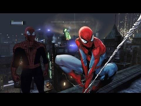 Playing as Spiderman in Batman Arkham City-how to install mods: tutorials