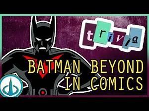 [BATMAN] BEYOND the Cartoon - Original DCAU Characters   Trivia Tuesdays