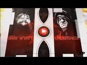 WWE Wrestlemania 31 Bray Wyatt vs The Undertaker Match Card medium