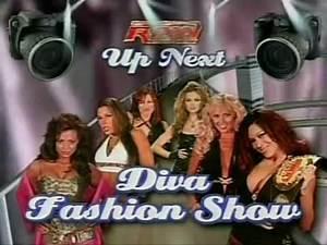WWE Raw 16 4 07 Match Card Diva Fashion Show