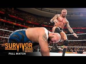 FULL MATCH - Randy Orton vs. Big Show - WWE Title Match: WWE Survivor Series 2013