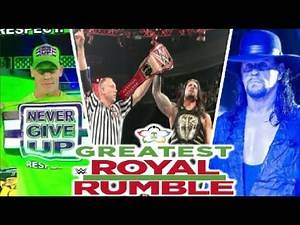 WWE Greatest Royal Rumble 2018 Highlights Results & Preview