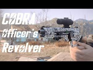 Fallout 4 - COBRA Officer's revolver Showcase - Weapon mod - PC - By Ramhat