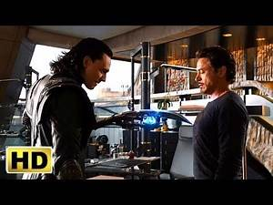 The Avengers ( 2012 ) Best fight scene iron man, Spider movieclips ( 1/5 )