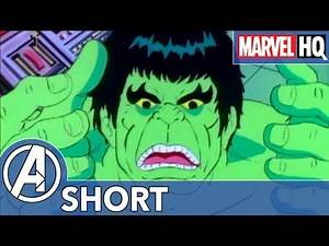 Hulk Needs a Nap! | Marvel Mash-Ups: Hulk | Sick Day