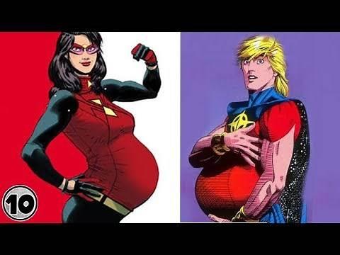 Top 10 Superheroes Who Got Pregnant