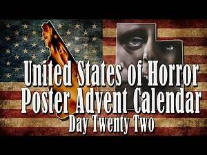Day 22: United States of Horror Poster Advent Calendar: New Hampshire and Utah