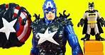 Marvel Spider-Man Maximum Venom Titan Hero Series Blast Gear Captain America | Superhero League 5