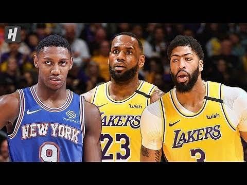 New York Knicks vs Los Angeles Lakers - Full Game Highlights   January 7, 2020   2019-20 NBA Season