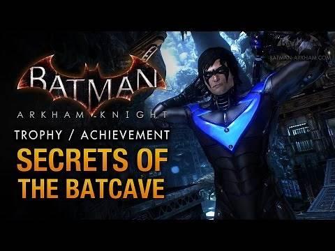 Batman: Arkham Knight - Batcave [Secrets of the Batcave Trophy  Achievement]
