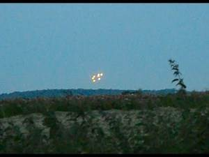 Real UFOs spotted over Bath, UK - Please read description for further details.