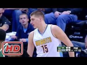 Milwaukee Bucks vs Denver Nuggets - Full Game Highlights - Feb 3, 2017