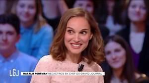 """Natalie Portman gênée à l'idée de dire un gros mot dans """"Le Grand Journal"""""""