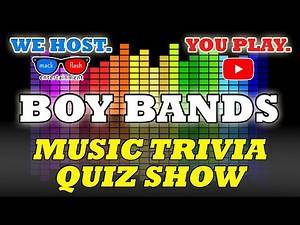 "Play a ""Boy Band"" Quiz Show! - Mack Flash Trivia Quickies"