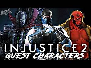 Injustice 2 - Vote for Guest Characters!