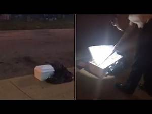 Baby's Coffin Mysteriously Left on Sidewalk Containing Organ Tissue: Cops
