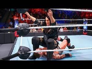 WWE 2K20: Nia Jax vs Randy Orton 1 intergender man vs woman wrestling