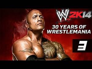 WWE 2K14 - Walkthrough - 30 Years Of Wrestlemania - Part 3 - Stickin' It To The World Wildlife Fund