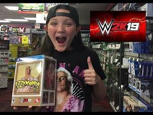 IzzyMania's WWE 2K19 PS4 Woo Edition Unboxing and Review