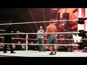 What happened after Raw went off the air on 08/15/11