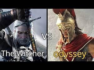Which Game is The Best RPG Game : Witcher 3 or Assassin's Creed Odyssey
