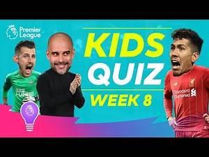 Premier League Kids Quiz | Episode 8