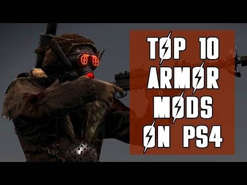 Top Ten Armor Mods for Fallout 4 on PS4/PS5