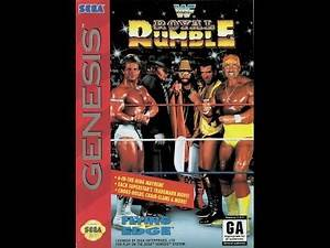 WWF Royal Rumble (Sega Genesis) - Razor Ramon