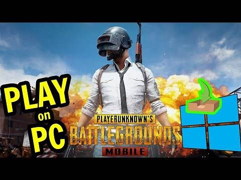 🎮 How to PLAY [ PUBG MOBILE ] on PC ▶ DOWNLOAD