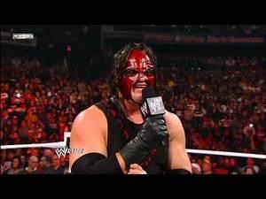 Raw - Kane tells John Cena why he's been targeted