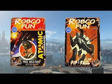 Fallout 4 - RobCo Fun Magazine Locations