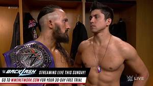 WWE Raw - Neville wants TJP to finish Austin Aries on 205 Live: Raw, May...