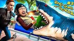 Bad Guys At School 2! They Made Me DO THIS! (FGTeeV vs SHARK)