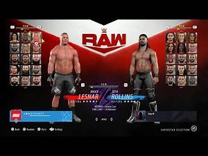 WWE 2K21 but it's made by EA Sports... 👀