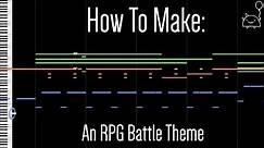How To: Make an RPG Battle Theme in 6 Minutes ( Full Song at the End) || Shady Cicada