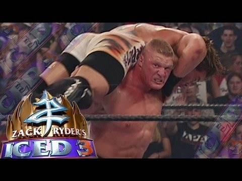 Zack Ryder's Iced 3 - June 2013, King of Ring 6/23/02 - Brock Lesnar vs RVD - FULL MATCH
