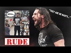 Roman Reigns and Seth Rollins Make Young WWE Fans Cry After Being So Rude To Them (WWE REACTS)