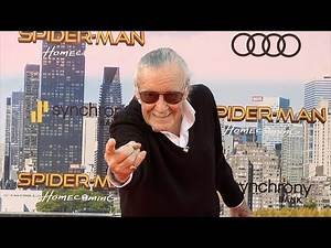 """Stan Lee """"Spider-Man: Homecoming"""" World Premiere Red Carpet"""