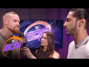 Ali & Murphy confront each other after their No DQ Match is made: 205 Live Exclusive, June 26, 2018