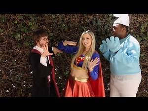 Cosplay Is A Good Time Song - Superheroes in Real Life (Kid Friendly) | Screen Team