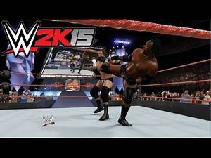 WWE 2K15 - Chris Jericho & Triple H vs. Booker T & Kane: Monday Night Raw | PS4 Gameplay