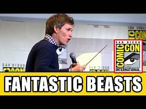 Eddie Redmayne Casts LUMOS MAXIMA Spell At Comic Con - Fantastic Beasts and Where to Find Them