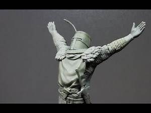 Sculpting Solaire from Dark Souls - part3