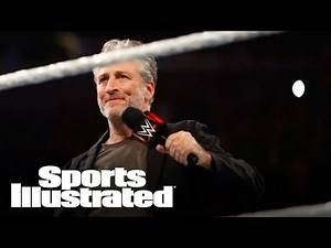 Chris Jericho Reacts To Jon Stewarts Heel Turn At WWE Summerslam | Sports Illustrated