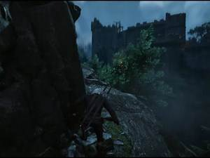 Witcher 3 - Kaer Morhen wolf armor tower impossible climb