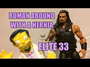 WWE ACTION INSIDER: Roman Reigns Elite Series 33 MATTEL Wrestling Figure Review