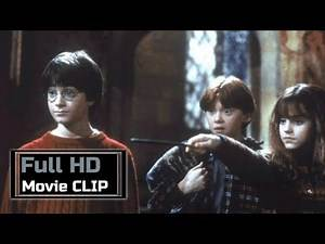 """Harry Potter and the Philosopher's Stone (2001) - Movie CLIP #49 : """"Petrificus Totalus"""""""