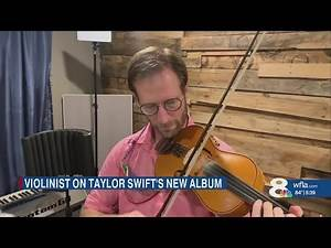Mystery project with violinist lands Lakeland recording studio on Taylor Swift album 'Folklore'